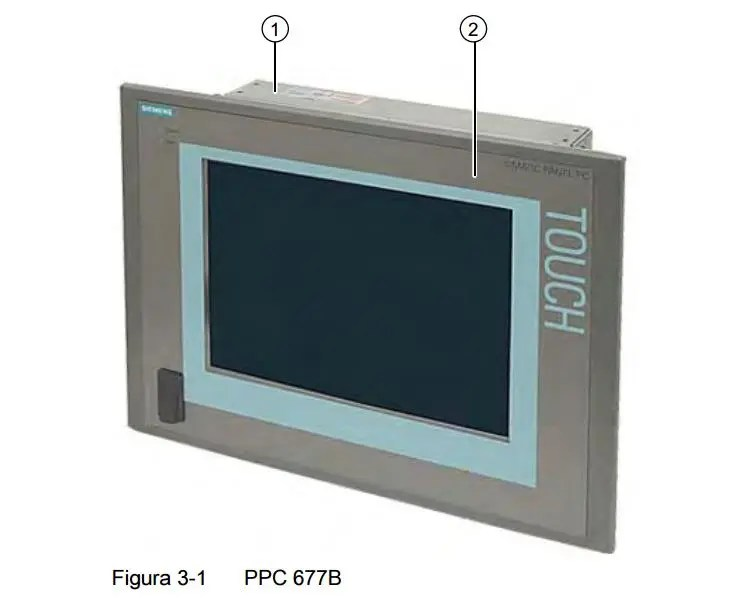 SIEMENS PC677B