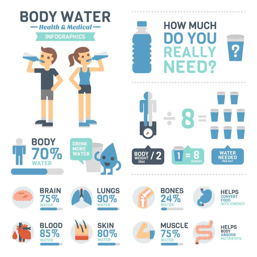 Water Dehydration Stress And A Healthy Start To