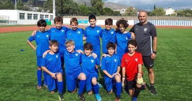 2η Αγωνιστική της Κ-12 ομάδας Ποδοσφαίρου