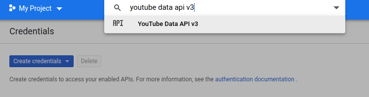 youtube data api v3 1