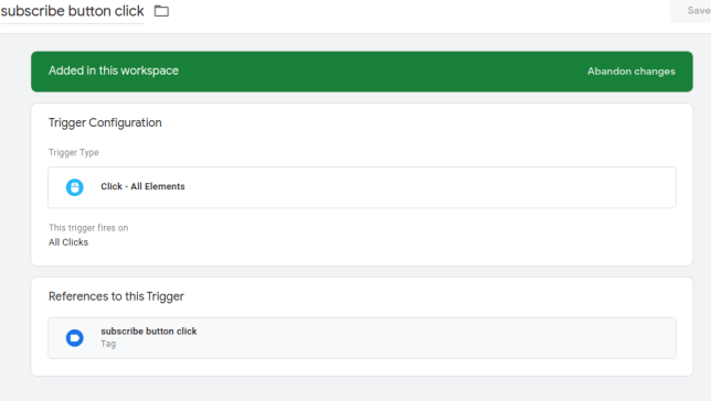 How to track button clicks using Google Tag Manager 2