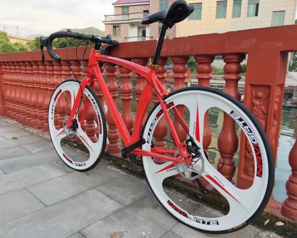 24speed 700C road bicycle cycling bicicleta road bike man& woman bike Disc brakes 4