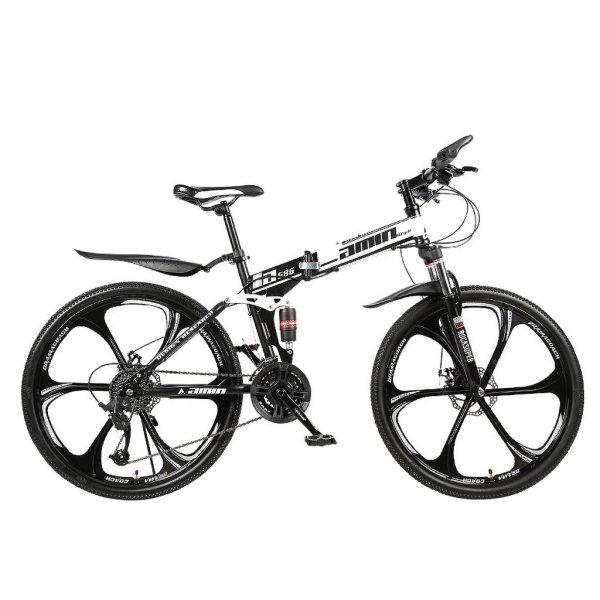Men 26Inches Bicycle Foldable Mountain Bike 21 Speed Durable Steel Adults Bike Man Cycling sepeda lipat MTB bicicletas vtt 2020 2