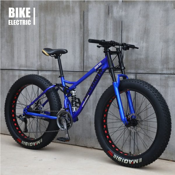 Multi-speed Cross-country 26inch Snow Bike Adult Extra wide 4.0 Large Tire Mountain Bike Male Female Cycling Students Bicycle 2