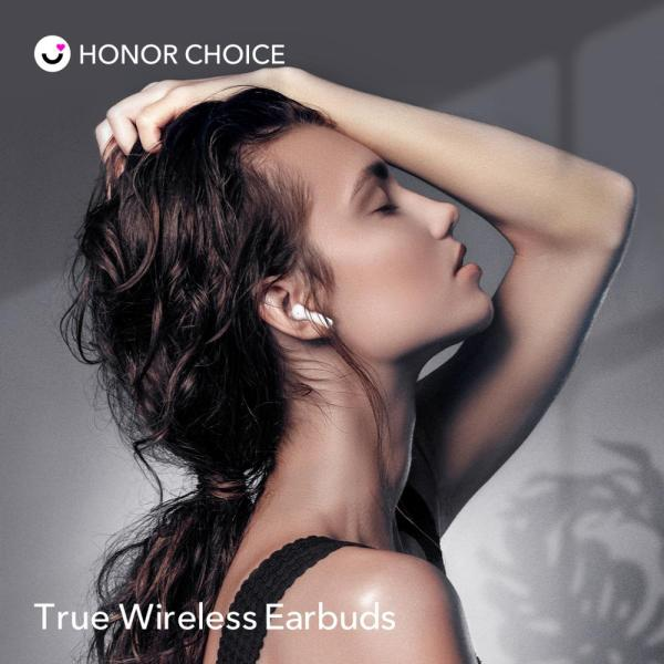 In Stock Honor Choice True Wireless Earbuds Wireless Bluetooth Earphone Bluetooth 5.0 Noise Reduction Earphone Dual-microphone 3
