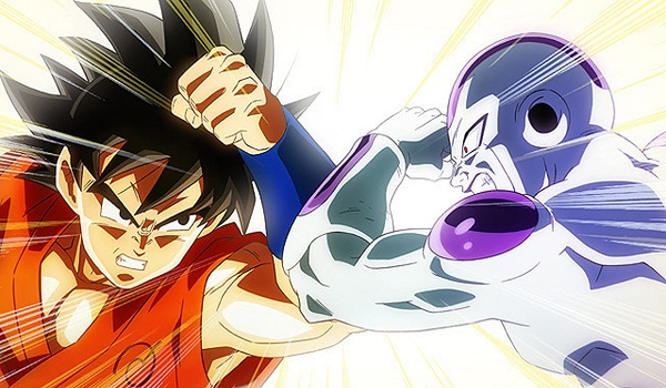 Goku vs Freeza