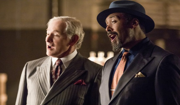 "The Flash -- ""Duet"" -- FLA317c_0464b.jpg -- Pictured (L-R): Victor Garber as Professor Martin Stein and Jesse L. Martin as Detective Joe West -- Photo: Jack Rowand/The CW -- © 2017 The CW Network, LLC. All rights reserved."