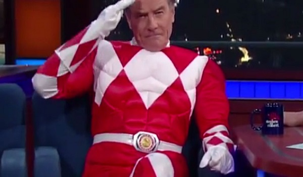 https://www.youtube.com/watch?v=_aimea_GEaE Bryan Cranston Is The Red Power Ranger  Source: The Late Show with Stephen Colbert/Youtube