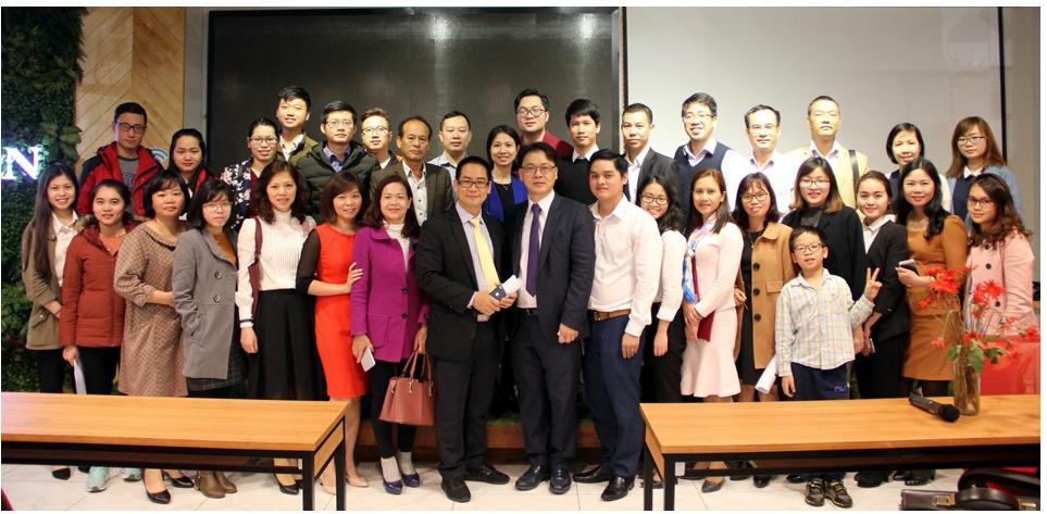 受邀至越南擔任講者,演講主題為「Doing business with Taiwan Market 」