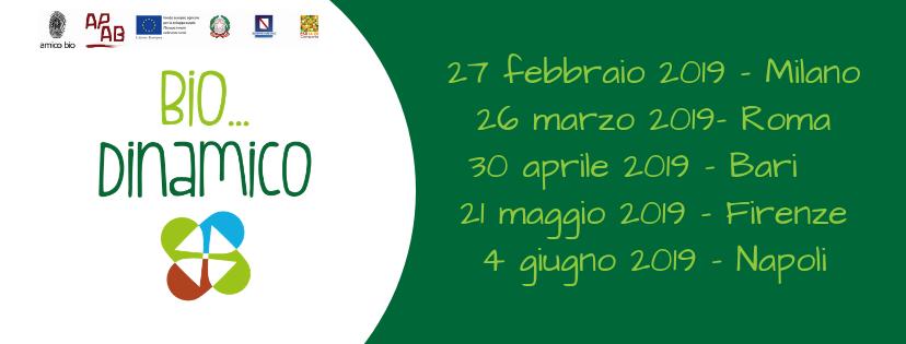 Bio Dinamica, 6 Seminari E 5 Show Cooking Con Lo Chef Simone Salvini
