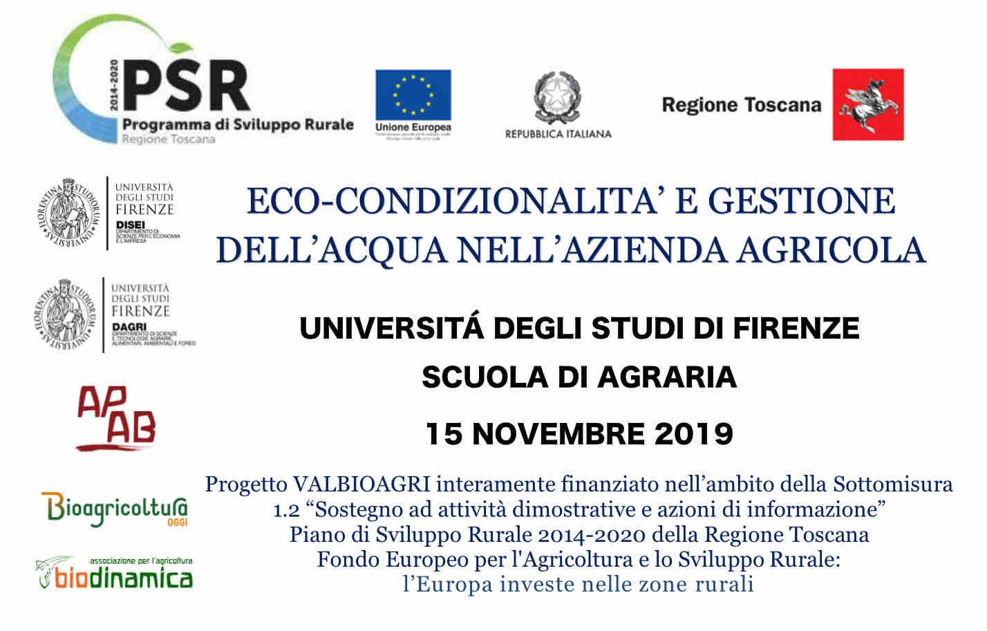Progetto Valbioagri Al Convegno Di Agroecologia 15 Novembre
