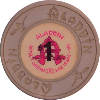 Aladdin 1989 $1 Las Vegas Casino Chip