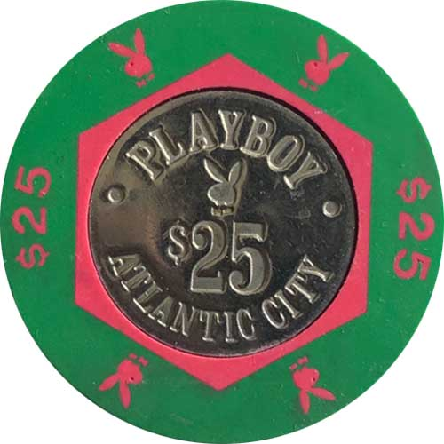 Playboy Atlantic City Casino Chip