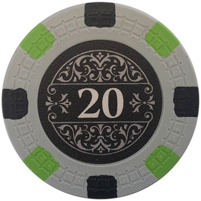 Bank 18xx Board Game Poker Chips