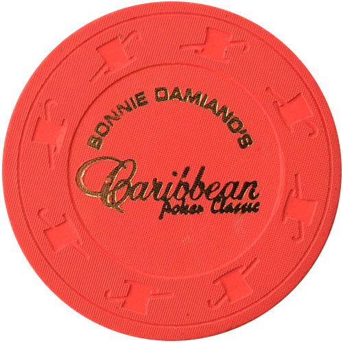 Caribbean Poker Classic Paulson Chips
