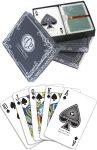 Cartamundi Casino Plastic Playing Cards - Red & Blue