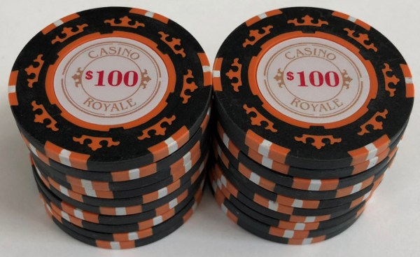 Casino Royale $100 Poker Chips