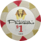 Pharaoh's Poker Chips - $1 Pharaoh chips