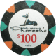 Pharaoh's Poker Chips - $100 Pharaoh chips