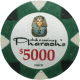 Pharaoh's Poker Chips - $5000 Pharaoh chips