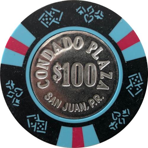 Condado Plaza Bud Jones Casino Chips