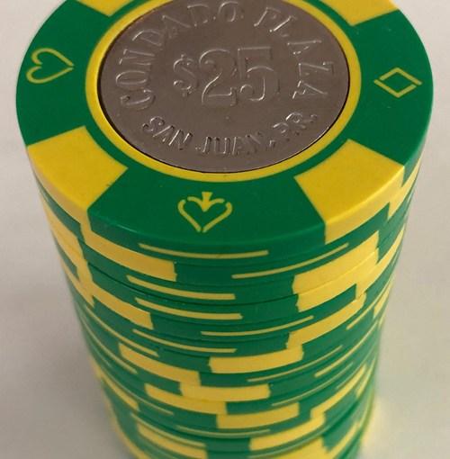 Condado Plaza Bud Jones Poker Chips