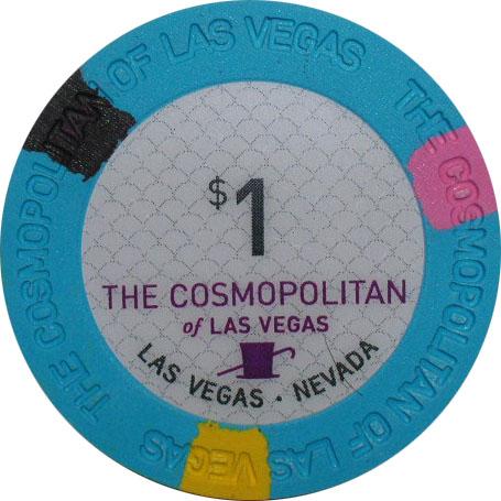Cosmopolitan Las Vegas Casino $1 Chip
