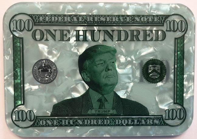 $100 Donald Trump Poker Plaque