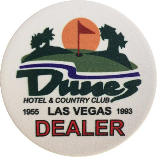 Dunes Dealer Button