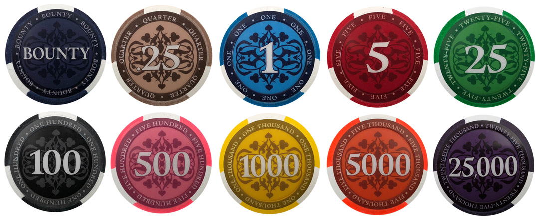 Elite Paulson Poker Chips