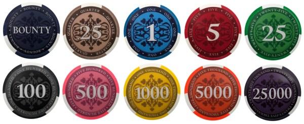 Elite Paulson Poker Chips