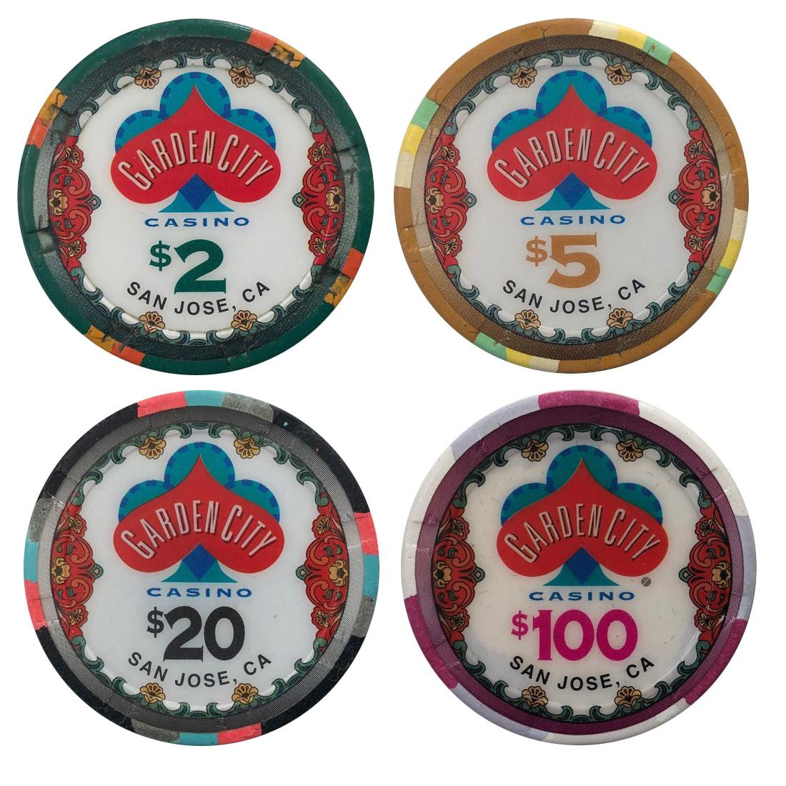 Garden City Casino Sample Chips
