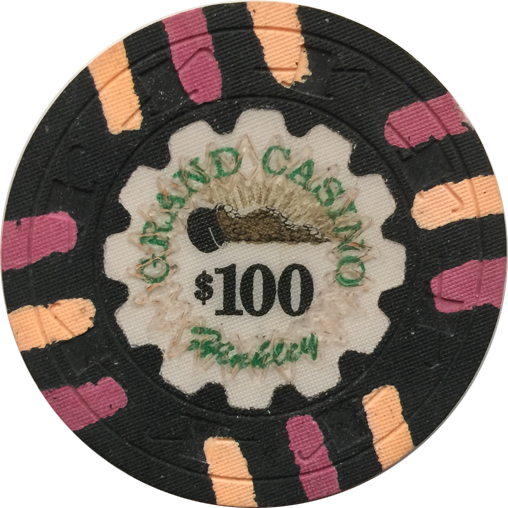 Grand Casino Paulson Poker Chips