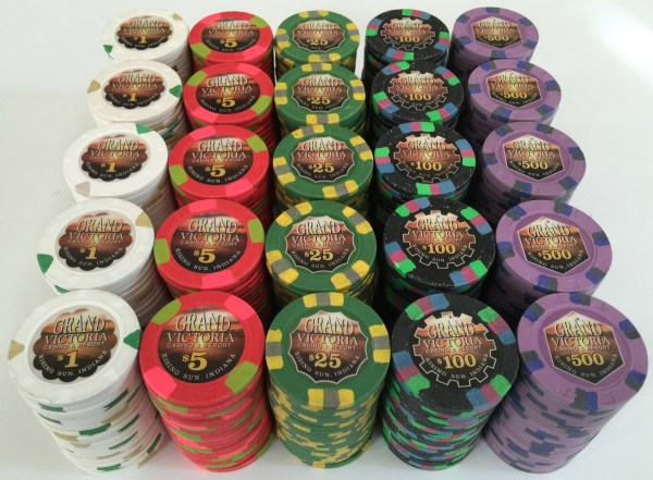 Grand Victoria Primary Paulson Poker Chips