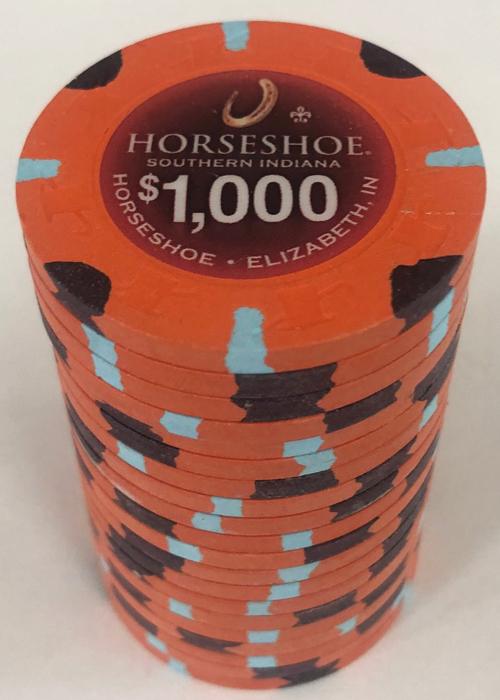 Horseshoe Casino $1000 Paulson Poker Chips