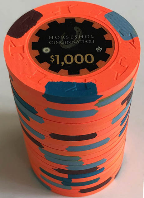 Horseshoe Casino Cincinnati Paulson Poker Chip Set
