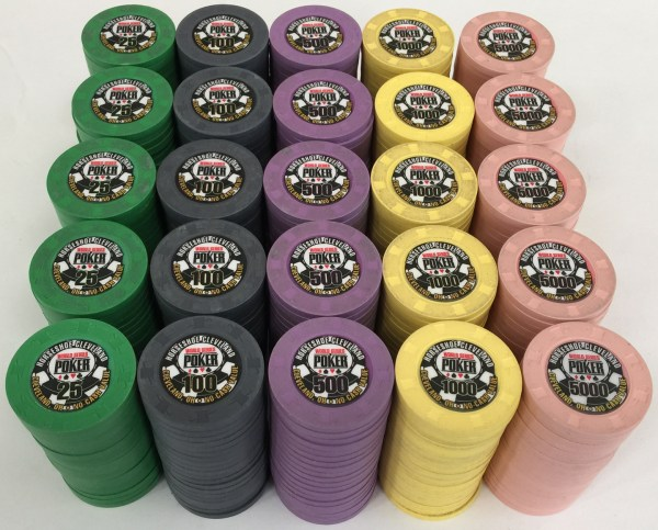 Horseshoe World Series Of Poker Paulson Poker Chip Set