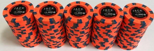 Jack Casino $1000 Paulson Poker Chips