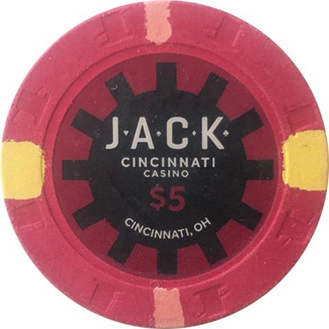 Jack Casino Cincinnati 500 Paulson Poker Chip Set