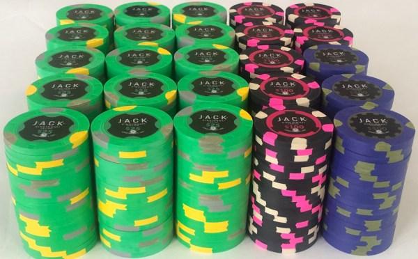 Jack Casino Paulson Poker Chip Set Cincinnati