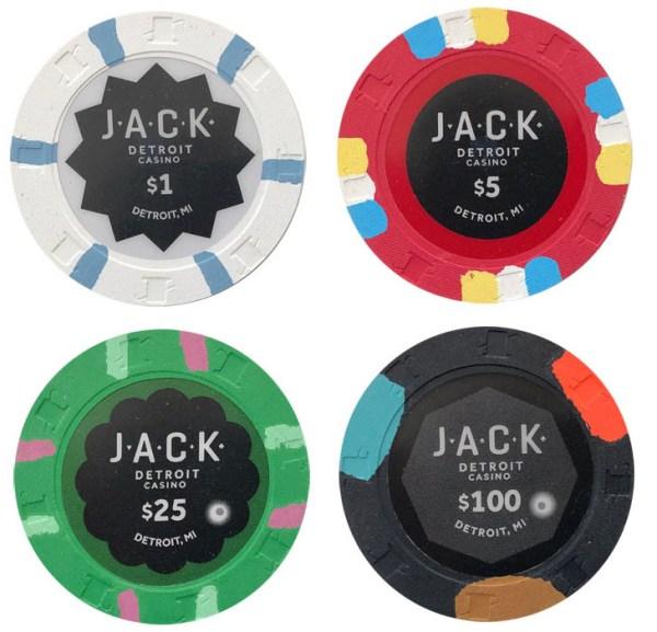 Jack Casino Paulson Sample Chip Set