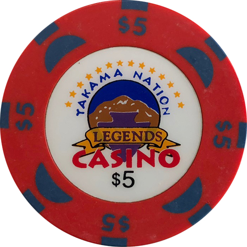 Legends Casino Bud Jones Poker Chips