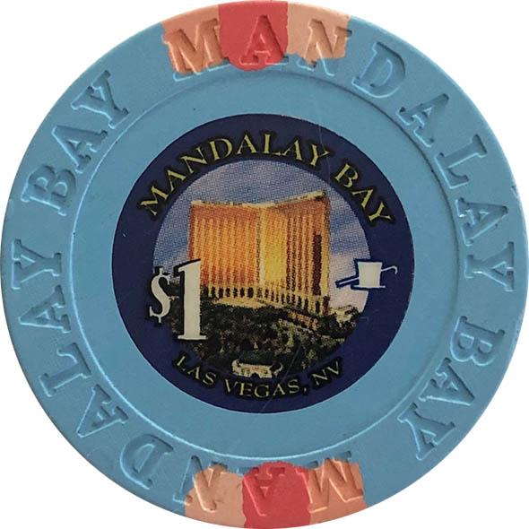 Mandalay Bay $1 Casino Chip