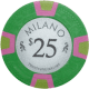 Milano Poker Chips - $25 Milanos chips