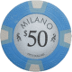 Milano Poker Chips - $50 Milanos chips