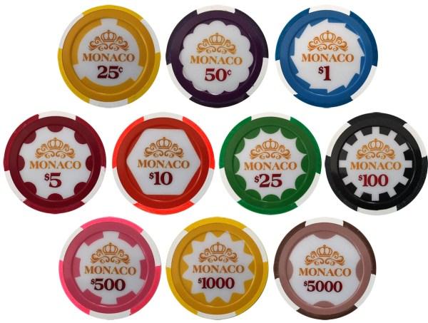 Monaco Poker Chips