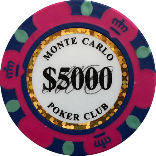 Monte Carlo $5000 Poker Chip