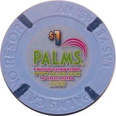 Palms $1 Las Vegas Casino Chip