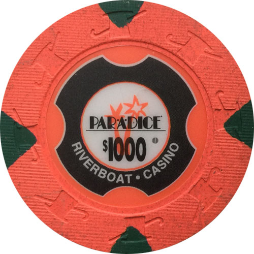 Par A Dice Paulson Poker Chips