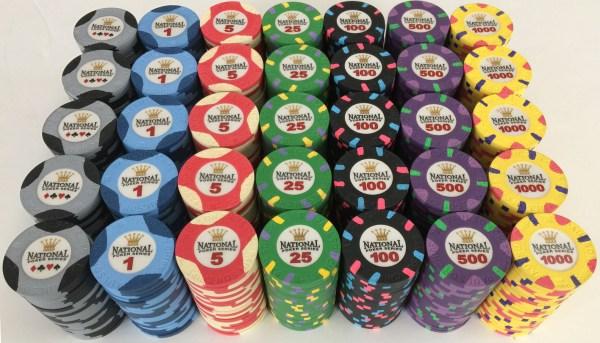 National Poker Series Paulson Chips